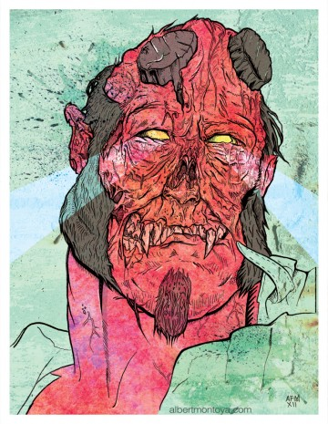Zombie Hellboy