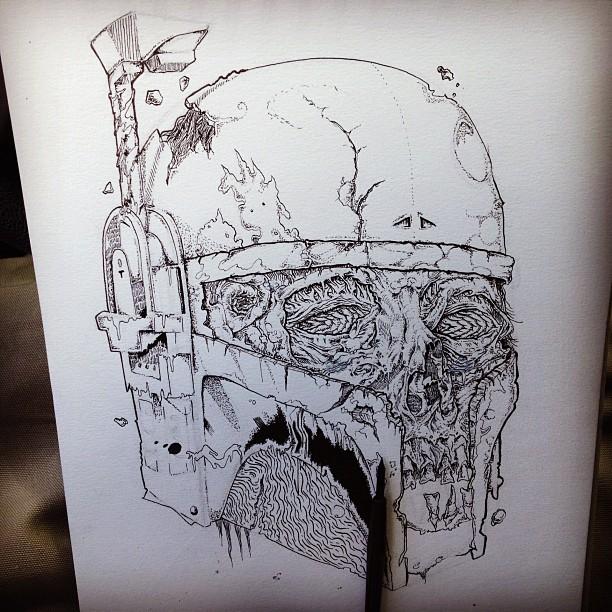 Boba Fett Zombie