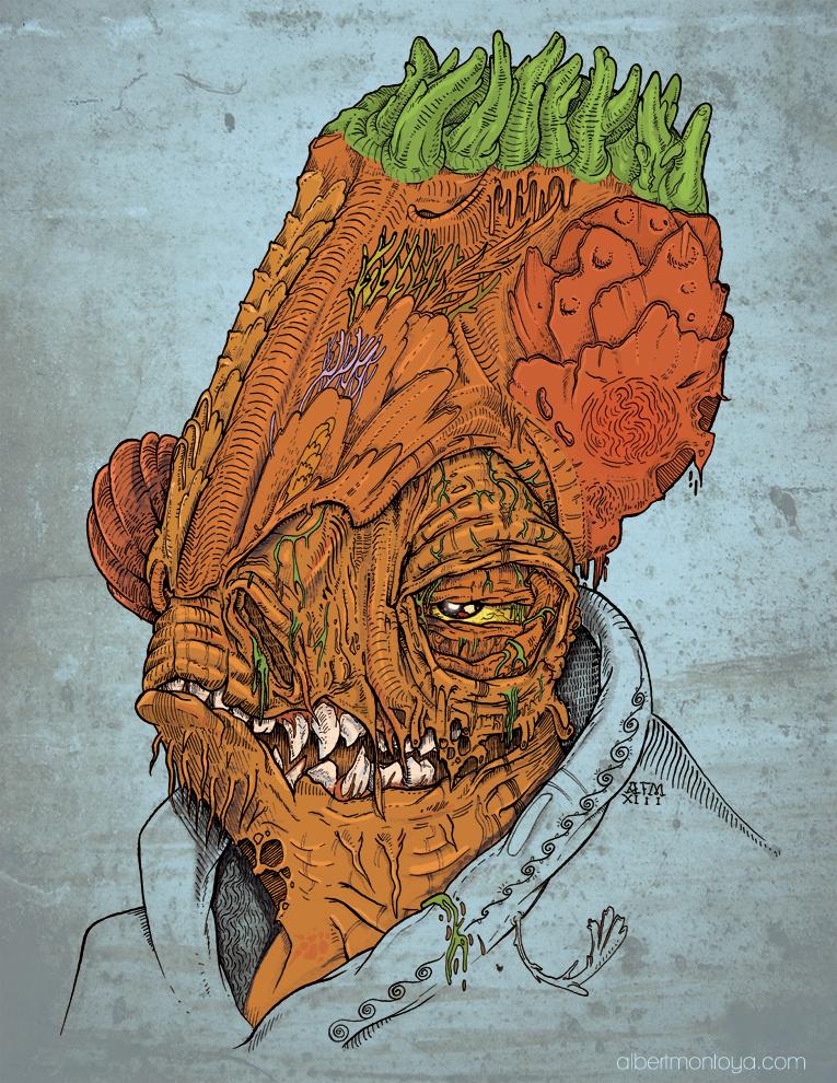 Ackbar Zombie