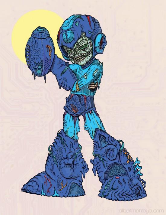 Mega Man Zombie