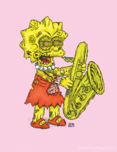 Zombie Lisa