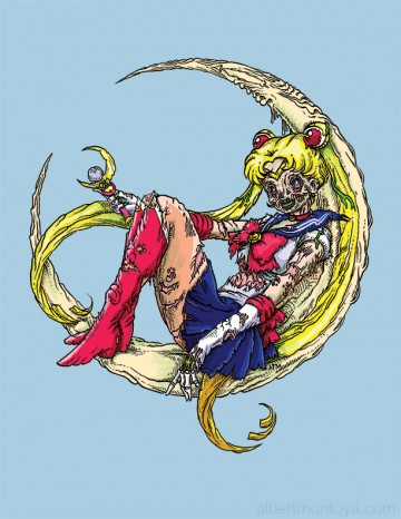 Sailor Moon Zombie