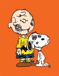 Charlie Brown Zombie