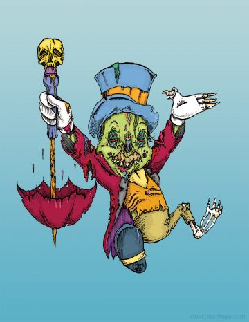 Zombie Jiminy Cricket