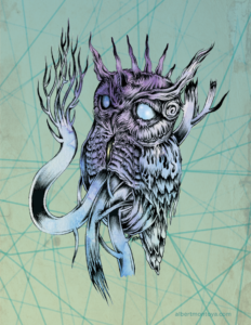 Silent-Flight-owl-illustration