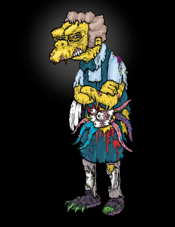 Moe Zombie The Simpsons
